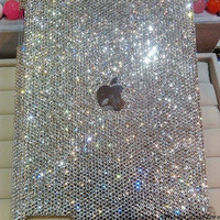 iPad 4 case iPad 3 case iPad 2 case Bling Bling Crystal iPad Mini case Artificial Swarovski Crystal iPad case Handmade new iPad case Cover