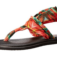 Sanuk Yoga 2 Prints Watermelon Sandals