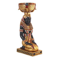 Egyptian Eset Kneeling Urn