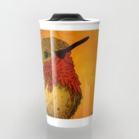The Sunset Bird Travel Mug by Texnotropio