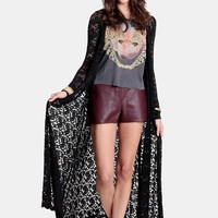 Supernatural Encounter Lace Cardigan