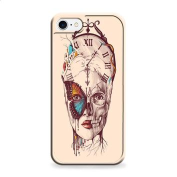 watch skull butterfly iPhone 6   iPhone 6S case