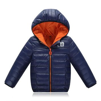 Blue, Sky Blue Kid Child Baby Toddler New Born Infant Winter Snow Coat