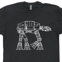 At-At Vintage Star Wars T Shirt The Empire Strikes Back