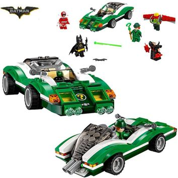 Batman Dark Knight gift Christmas 2018 New Arerival 07059 Batman The Riddler Riddle Racer Man-Bat Brick Building Block Toys Compatible  Batman Movie 70903 AT_71_6