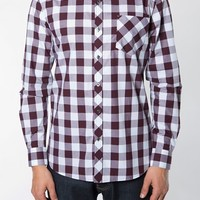 Men's 7 Diamonds 'Starlight' Trim Fit Buffalo Check Woven Shirt,