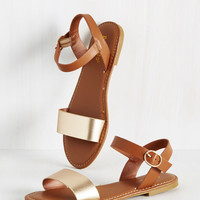 Are You Shore? Sandal | Mod Retro Vintage Sandals | ModCloth.com