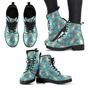 Labrador Flower Boots-Clearance