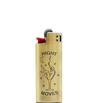 Night Moves Small Metal Lighter Case