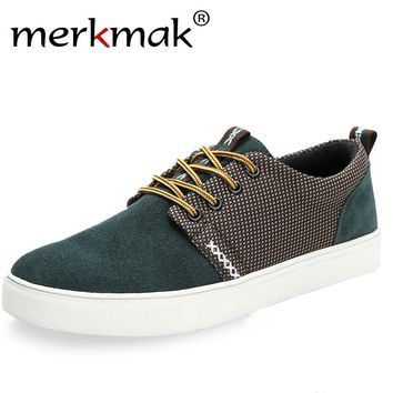 Merkmak Casaul Men's Stylish Laced Up Frosted Loafers