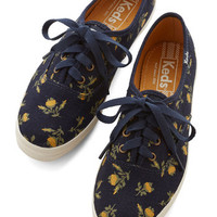 Keds Darling Grand Garden Gait Sneaker in Navy
