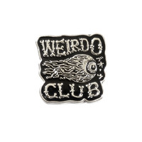 Weirdo Club Lapel Pin