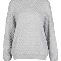Petite Quilted Sweat