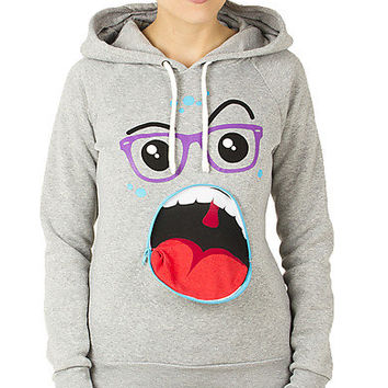 Girls Pullover Monster Hoodie