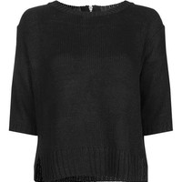 Zip Back Jumper - Sweaters & Knits - Clothing