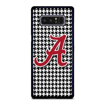ALABAMA HOUNDSTOOTH CRIMSON TIDE Samsung Galaxy Note 8 Case