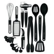 KitchenAid Classic 17-piece Tools and Gadget Set (Black)