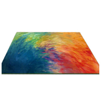 Modern Simple Abstract Art Fashionable Carpet Mat  120*170cm