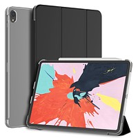 For iPad Pro 12.9-inch Smart Case Shell, Trifold Sleep-Wake Feature