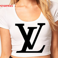 Louis Vuitton Crop Top- Hipster