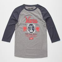VANS Cold One Mens Baseball Tee | L/S & Baseball Tees