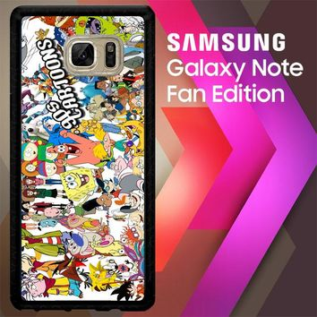 90S Cartoon Caracter V0626 Samsung Galaxy Note FE Fan Edition Case