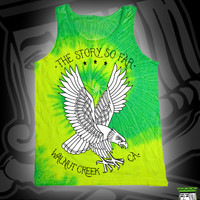 TSSF EAGLE TIE DYE TANK TOP