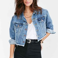 BDG Raw Edge Denim Trucker Jacket