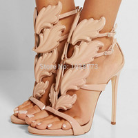 2016 women shoes high heels sandal patent leather gladiator women pumps sexy ladies stiletto party wedding shoes woman
