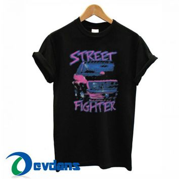 Street Fighter Car T Shirt Women And Men Size S To 3XL