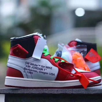 Nike Air Jordan 1 X Off White Virgil Abloh Chicago