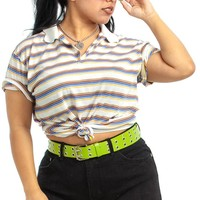 Vintage 80's Retro Polo - One Size Fits Many