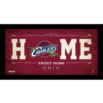 Cleveland Cavaliers 10x20 Home Sweet Home Sign