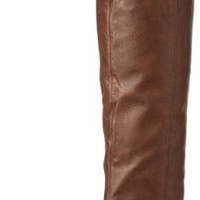 Steve Madden Women's Creation Knee-High Boot,Tan Leather,7 M US