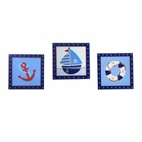 Bedtime Originals Sail Away Wall Decor