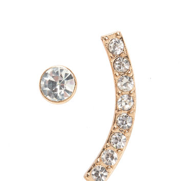Curve's The Word Ear Pin And Earring Set