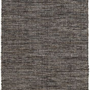 Grant Black/Brown Woven Cotton Rug