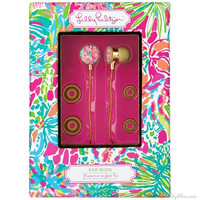 Lilly Pulitzer Earbuds in Spot Ya