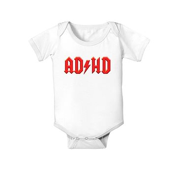 ADHD Lightning Bolt Rockstar Baby Bodysuit One Piece