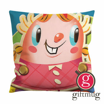 Candy Crush Girl Cushion Case / Pillow Case
