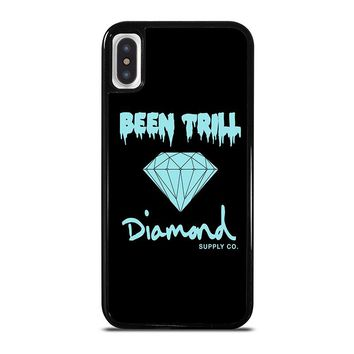 BEEN TRILL DIAMOND BLACK iPhone X Case Cover
