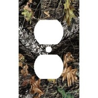 Mossy Oak Breakup Outlet Cover Plate