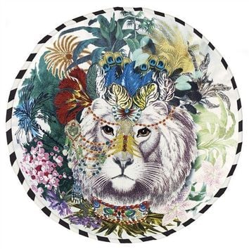 Christian Lacroix Jungle King Opiate Throw Pillow by Designers Guild