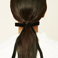 Velvet Ribbon Hair Tie