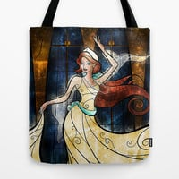 Once upon a December Tote Bag by Mandie Manzano