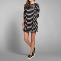 Slinky Knit T-Shirt Dress