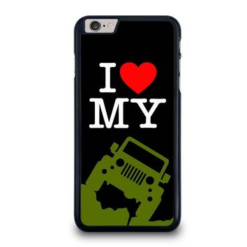 I LOVE MY JEEP iPhone 6 Plus Case Cover