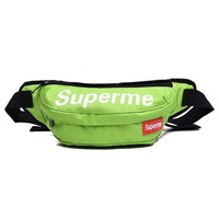 Men's and Women's Supreme Chest Pockets Oxford Casual Riding Bag  060