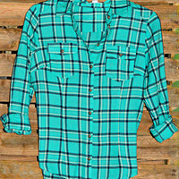 FIELD OF DREAMS FLANNEL IN MINT