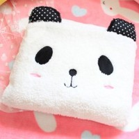 Panda Plush Pillow Blanket